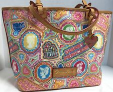 ~Dooney & Bourke*Disney Parks*Pop Princess*Shopper Tote* 18052B S77