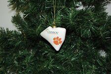 Clemson University Tigers Christmas Ornament