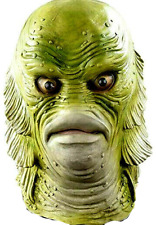 Creature Mask Halloween Classic Horror Movie Monster Costume Decoration Latex
