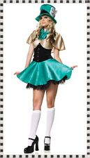 St Patrick's Day Costume Green Tea Party Alice Outfit Party Fancy Dress size 10
