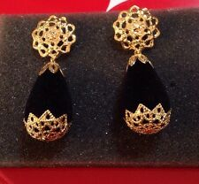 Avon Velvet Impressions Pierced Earrings With Surgical Steel Posts
