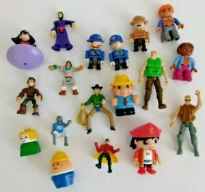 Boys Junk Drawer Toy Chest Lot of 18 Random Action Figures Toys
