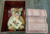 Steiff Jackie 1953 Replica Limited Edition Jointed Plush Teddy Bear 0190/25 NEW