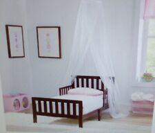 New listing Delta Children White Mesh Decorative Crib Canopy Netting White 10