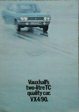 Vauxhall VX 4/90  Sales Brochure - September 1971
