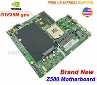 Lenovo Z580 Laptop motherboard DALZ3AMB8E0 with NVIDIA GT635M 100% Brand New #