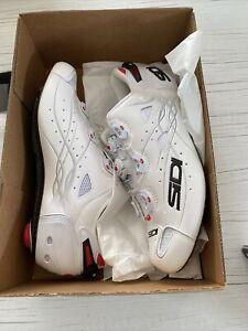 Sidi Scarpe Shot Cycling Shoes Size Eu 42 White