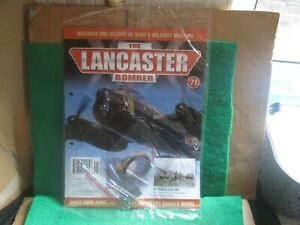 HACHETTE 1:32 SCALE BUILD THE LANCASTER BOMBER (ISSUE 71 WITH PART) NEW
