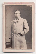Vintage CDV Harry Eyre Pearson (7 August 1851 – 8 July 1903) English Cricketeer