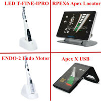 Wireless 16:1 Dental Endo Motor Endodontic Treatment Handpiece / Apex Locator