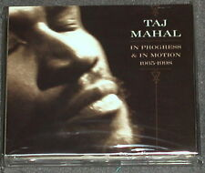 TAJ MAHAL In Progress & Motion 1965-1998 Sony / Legacy 3-CD US-Import MINT