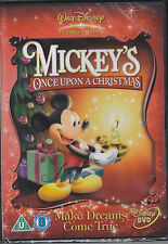 Mickey's Once Upon A Christmas - New & Sealed UK Disney R2 DVD