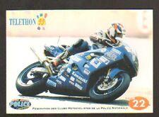 SPORT MOTO / FEDERATION des CLUBS MOTOCYCLISTES de la POLICE NATIONALE , en 1999