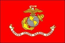 U.S. Marine Flag 3x5ft Poly