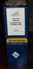New Holland 4055 4060 Boomer Tractor Service Manual