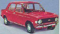 Guarnizione lunotto predisposta all'inserto centrale cromato Fiat 128 Berlina