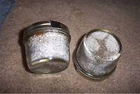 Sterilized Fresh Brown Rice Flour&Vermiculite Mushroom Growing Substrate 3 jars