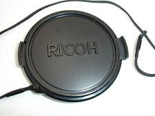 RICOH 58mm front lens cap,  genuine, OEM