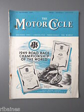 R&L Mag: The Motorcycle 15 December 1949, Nello Pagani/Guzzi Airone Sport 250