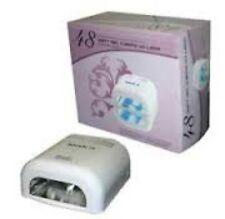 Ikonna 48 Watt Gel Nail Curing UV Lamp Light 110 V. Use UV/ LED Gel colors