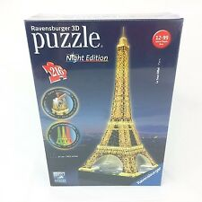 Ravensburger Eiffel Tower - Night Edition, 216pc 3D Jigsaw Puzzle Paris