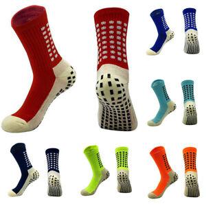 One Pair Football Socks Anti Slip Non Slip Grip Pads Sports Soccer Trusox Style