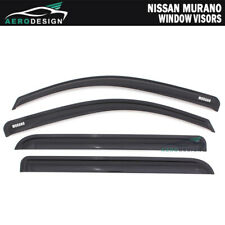 5pcs 2mm Outside Mount Visor Rain Guards Sunroof For Nissan Murano 2009-2014