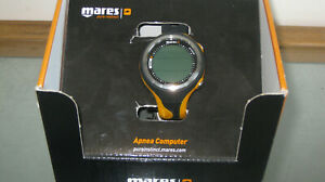 Brand-new Mares Apnea dive computer. Black and Orange