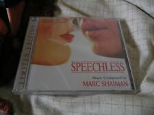 Speechless [Audio CD]  Mark Shaiman Lala Land release OOP