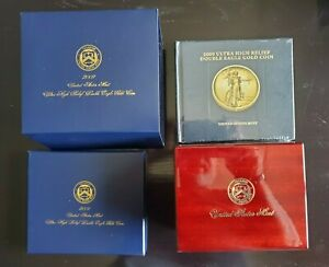 1oz 2009 ULTRA HIGH RELIEF DOUBLE EAGLE $20 GOLD SAINT GAUDENS W/ORIG BOX&CERT