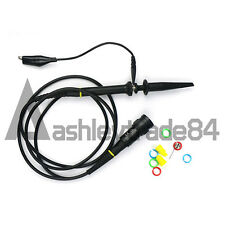 P6200 X1 X10 200MHz Oscilloscope Probe Clip with 1.1M Cable Kit EN BNC Test Tool
