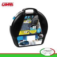 Catene da neve 215/45R17 215/45-17 7mm Lampa RX-7 Omologate Gruppo 9 - 16389