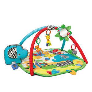 Bright Starts  Sensory Safari Act. Gym - Krabbeldecke Spieldecke Spielbogen Baby