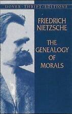 NEW The Genealogy of Morals (Dover Thrift Editions) by Friedrich Nietzsche
