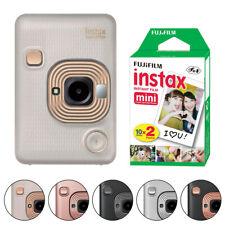 Cámara instantánea Fujifilm Instax Mini liplay Todos Los Colores + 20 hojas de películas instantáneas