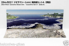 [HAKONIWAGIKEN DSm-R001 (N, Z Scale) 430x302mm] Diorama Sheet mini-W Coast Line