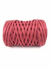 Red Raffia Paper Rope Ribbon 25YDS Christmas Holiday String Gift Wrapping Twine
