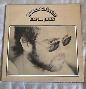 ELTON JOHN ~ HONKY CHATEAU ~ DJLPH 423 ~ 1972 ~ ORIGINAL STEREO LP ~ DEAD WAX