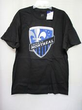 NEW MLS Montreal Impact Mens Oversized Logo Short Sleeve T-Shirt, Size L