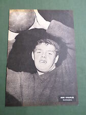 BOB CHARLES - SOUTHAMPTON PLAYER-1 PAGE PICTURE - CLIPPING/CUTTING