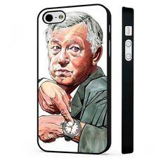 Sir Alex Ferguson Manchester United BLACK PHONE CASE COVER fits iPHONE