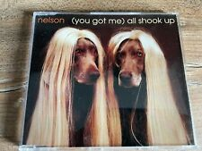 NELSON - (You Got Me) All Shook Up RARE 3 TRACK MAXI CD