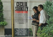Coupure de presse Clipping 2005 Cécilai Sarkozy  (6 pages)
