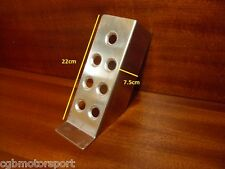 RENAULT 5 GT TURBO ALLOY FOOT REST TRACK RALLY DRIVERS CLUTCH PEDAL SUPPORT
