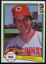 1982 Donruss Set Break Tom Seaver Cincinnati Reds #148 Baseball Card MINT