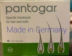 Pontogar Pantovgar Merz 90 Caps Hair Nail Health Treatment Vitamins Germany