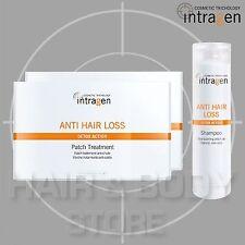 2x 30 CEROTTI + SHAMPOO 250ml ANTI HAIR LOSS Intragen patch anticaduta capelli