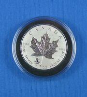 1 Oz  - 9999 Pure Silver Maple Leaf - 2016  Monkey Privy  - Royal Canadian Mint