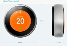 Nest Learning Thermostat 2nd generation, EU / UK T200377 with all accessories