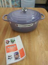 New Le Creuset Blue Bell Purple